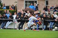 VOETBAL: OUDEGA (W): Sportpark It Joo, 17-07-2012, Oefenwedstrijd SC Heerenveen-Waasland Beveren (BEL), .Cédric D'Ulivo (#19), Arsenio Valpoort (#29), ©foto Martin de Jong