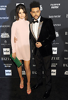 NEW YORK, NY - SEPTEMBER 08:  Selena Gomez and The Weeknd attends the 2017 Harper's Bazaar Icons at The Plaza Hotel on September 8, 2017 in New York City. <br /> CAP/MPI/JP<br /> &copy;JP/MPI/Capital Pictures