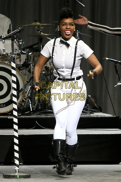 16 July 2014 - Los Angeles, California - Janelle Monae. The GRAMMY Museum's Jane Ortner Education Award Luncheon held at Club Nokia LA Live. <br /> CAP/ADM/BP<br /> &copy;Byron Purvis/AdMedia/Capital Pictures