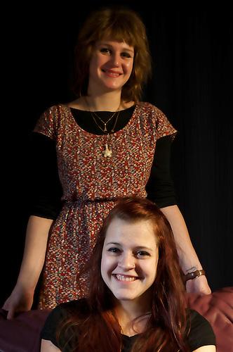Sisters portrait shoot.