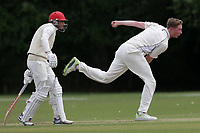 A Marchant of Billericay during Hornchurch CC (batting) vs Billericay CC, Shepherd Neame Essex League Cricket at Harrow Lodge Park on 8th June 2019