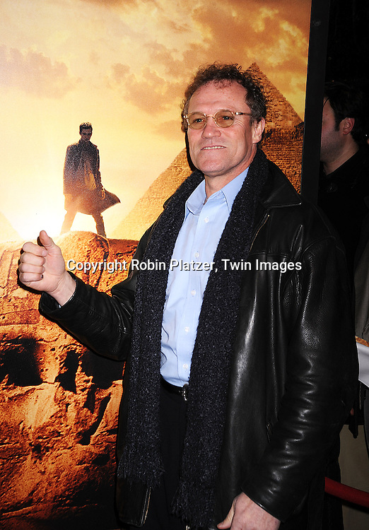 "Michael Rooker, actor in the movie.arriving at The New York Premiere of ""Jumper"" on     February 11, 2008 at The Ziegfeld Theatre in New York City. the movie stars Hayden Christensen, Rachel Bilson, .AnnaSophia Robb, Jamie Bell,Michael Rooker, Teddy Dunn and Samuel L Jackson...Robin Platzer, Twin Images..212-935-0770"