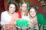 WREATHS: Making the wreaths at the Christian Fellowship summer camp in Listowel last Friday were, l-r: Niamh Keane, Aoife Trench, Abigail Walsh.
