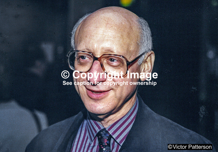 Gerald Kaufman, MP, Labour Party, UK, 19961003GK2.<br />