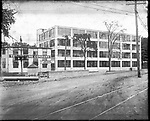 Frederick Stone negative. Auto Tire Co. Bldg. Oakville.<br />