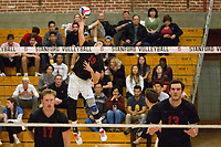 STANFORD, CA - January 2, 2018: Jacob Thoenen at Burnham Pavilion. The Stanford Cardinal defeated the Calgary Dinos 3-1.