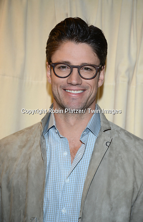 "James Scott  attends the Days of Our Lives Cast signing "" Days of Our Lives Better Living""  book on September 23, 2013 at Barnes & Noble on 5th Avenue in New York City. The book was written by Eddie Campbell and  Greg  Meng."
