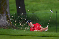 Carlota Ciganda (ESP) hits from the trap on 1 during round 4 of the KPMG Women's PGA Championship, Hazeltine National, Chaska, Minnesota, USA. 6/23/2019.<br /> Picture: Golffile | Ken Murray<br /> <br /> <br /> All photo usage must carry mandatory copyright credit (© Golffile | Ken Murray)