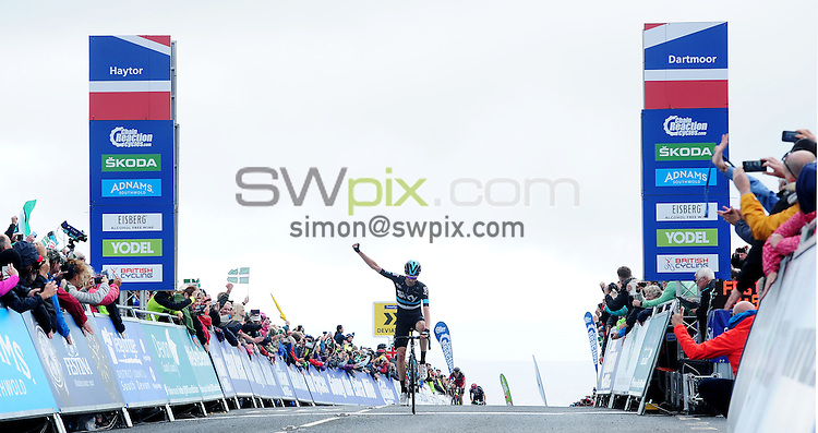 Picture by Simon Wilkinson/SWpix.com - 09/09/2016 - Cycling - Tour of Britain 2016 Stage 6 - Sidmouth to Haytor<br />