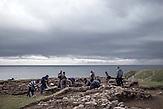 Ein Archäologen-Team der Universität Sofia sucht nördlich von Achtopol nach Gräbern thrakischer Fürsten.