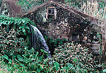 Old water mill on Terceira, Azores. Far out in the Atlantic Ocean, some 850 miles off the western coast of Lisbon, Portugal lies the 425-mile long archipelago of the Azores.Jim Bryant Photo. ©2012. All Rights Reserved......