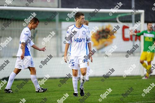 2013-08-17 / Voetbal / seizoen 2013-2014 / Merksem / Liam Goossens<br /><br />Foto: Mpics.be