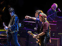 NEWARK, NJ - DECEMBER 13: The Rolling Stones in concert at The Prudential Center in Newark, New Jersey. December 13, 2012. Credit: Rocco S. Coviello/MediaPunch Inc. /NortePhoto