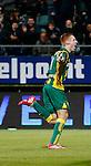 Nederland, Den Haag, 21 februari 2014<br /> Eredivisie<br /> Seizoen 2013-2014<br /> ADO Den Haag-Go Ahead Eagles <br /> Mike van Duinen van ADO Den Haag juicht nadat hij de 1-0 heeft gescoord.