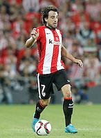Athletic de Bilbao's Benat Etxebarria during Supercup of Spain 1st match.August 14,2015. (ALTERPHOTOS/Acero)
