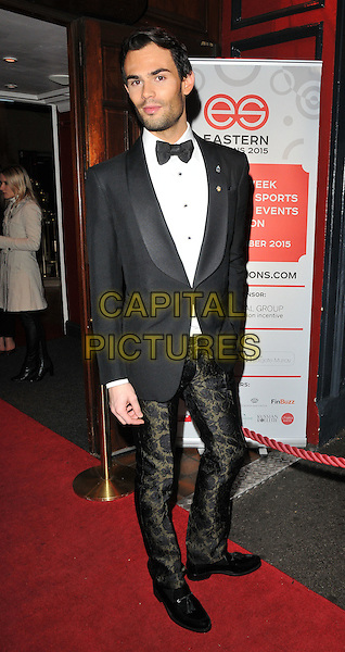 Mark-Francis Vandelli attends the Eastern Seasons Week gala dinner, Madame Tussaud's ( London ), Marylebone Road, London, UK, on Monday 30 November 2015.<br /> CAP/CAN<br /> &copy;Can Nguyen/Capital Pictures