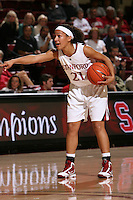 STANFORD, CA - NOVEMBER 1:  Rosalyn Gold-Onwude of the Stanford Cardinal during Stanford's 107-49 win over Vanguard on November 8, 2009 at Maples Pavilion in Stanford, California.