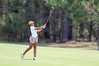 Miriah Smith (USA) on the 9th during the second round of the Augusta National Womans Amateur 2019, Champions Retreat, Augusta, Georgia, USA. 04/04/2019.<br /> Picture Fran Caffrey / Golffile.ie<br /> <br /> All photo usage must carry mandatory copyright credit (&copy; Golffile | Fran Caffrey)