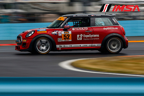 30 June-2 July, 2016, Watkins Glen, New York USA<br /> 52, MINI JCW, ST, Ramin Abdolvahabi, James Vance<br /> &copy;2016, Jake Galstad<br /> LAT Photo USA