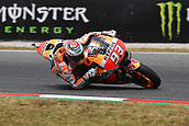 June 9th 2017, Barcelona Circuit, Montmelo, Catalunya, Spain; MotoGP Grand Prix of Catalunya, Free practice day; Marc Marquez (Repsol Honda) during the free practice sessions