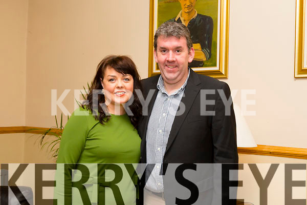 John McCarthy and Norma Foley enjoying the Kerins O Rahillys Social at Kerins O Rahillys GAA Clubhouse on Saturday