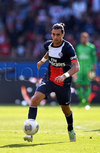 31.08.2013. Paris, France. French League football. Paris St Germain versus Guingamp Aug 31st.  Javier Pastore (psg)