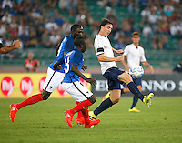 Riccardo Monteolivo during the  friendly  soccer match,between Italy  and  France   at  the San  Nicola   stadium in Bari Italy , September 01, 2016<br /> <br /> amichevole di calcio tra le nazionali di Italia e Francia