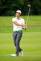 Daniel Im (USA) during the first round of the Shot Clock Masters, played at Diamond Country Club, Atzenbrugg, Vienna, Austria. 07/06/2018<br /> Picture: Golffile | Phil Inglis<br /> <br /> All photo usage must carry mandatory copyright credit (&copy; Golffile | Phil Inglis)