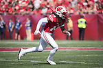 Wisconsin Badgers defensive back D'Cota Dixon (14) during an NCAA College Football game against the Florida Atlantic Owls Saturday, September 9, 2017, in Madison, Wis. The Badgers won 31-14. (Photo by David Stluka)