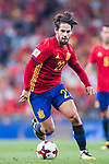 Isco of Spain in action during their 2018 FIFA World Cup Russia Final Qualification Round 1 Group G match between Spain and Italy on 02 September 2017, at Santiago Bernabeu Stadium, in Madrid, Spain. Photo by Diego Gonzalez / Power Sport Images