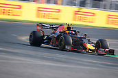 17th March 2019, Melbourne Grand Prix Circuit, Melbourne, Australia; Melbourne Formula One Grand Prix, race day; The number 10 Aston Martin Red Bull driver Pierre Gasly during the race
