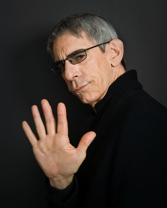 "Richard Belzer photographed for the Creative Coalition's ""Art & Soul"" Book"
