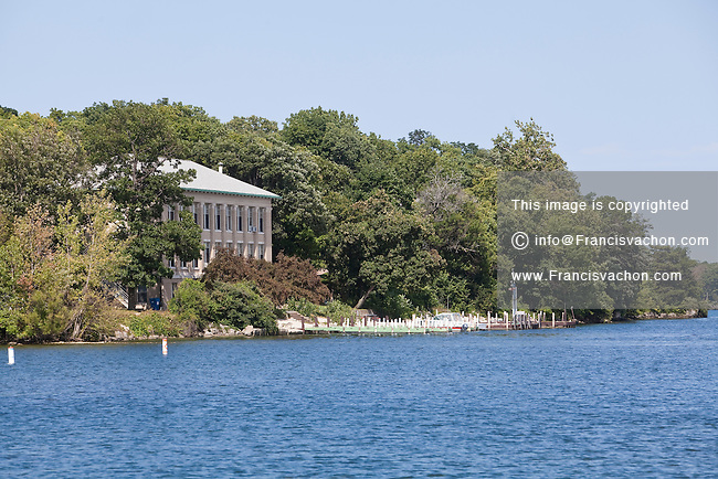 The Ohio State University Stone Laboratory is pictured on Gibraltar Island, just off Put-In-Bay on South Bass Island, Ohio, Wednesday August 7, 2013.