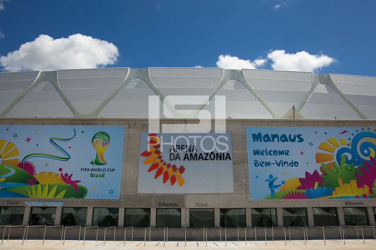 A general view of Arena da Amazonia