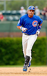 3 July 2005: Aramis Ramirez, All-Star third baseman for the Chicago Cubs, rounds second base during a game against the Washington Nationals. The Nationals defeated the Cubs 5-4 in 12 innings to sweep the 3-game series at Wrigley Field in Chicago, IL. Mandatory Photo Credit: Ed Wolfstein