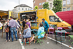 BRUSSELS - BELGIUM - 31 July 2016 -- Brussels city - Weekly Sunday market on Place Jourdan. -- PHOTO: Juha ROININEN / EUP-IMAGES Käyttöoikeus: vain ET brändi