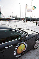 19-01-13, Tennis, Rotterdam, Wildcard for qualification ABNAMROWTT, Official car