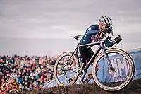 Stephen Hyde (USA)<br /> <br /> Men's Elite race<br /> <br /> UCI 2019 Cyclocross World Championships<br /> Bogense / Denmark<br /> <br /> ©kramon