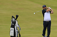 Andy Sullivan (ENG) on the 18th hole during Saturday's Round 3 of the 2018 Dubai Duty Free Irish Open, held at Ballyliffin Golf Club, Ireland. 7th July 2018.<br /> Picture: Eoin Clarke | Golffile<br /> <br /> <br /> All photos usage must carry mandatory copyright credit (&copy; Golffile | Eoin Clarke)