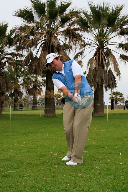 Shane Lowry returns to the tour after breaking his wrist over the winter at the Pro-Am Wedensday of the Open de Andalucia de Golf at Parador Golf Club Malaga 23rd March 2011. (Photo Eoin Clarke/Golffile 2011)