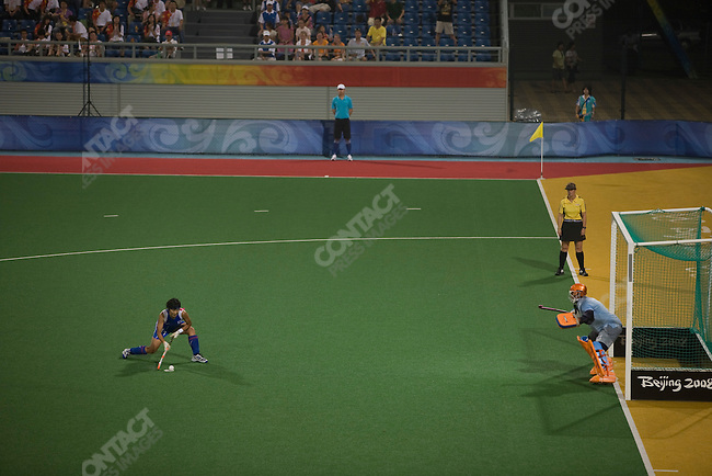 Women's Field Hockey, Netherlands vs. South Korea, Summer Olympics, Beijing, China, August 12, 2008