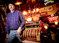 Friday, January 13, 2005.Jeff Starnes is the owner of Greg's Antiques in Over the Rhine. His father, Greg, started the business, which has operated on Main St. for 12 years. Photo by The Enquirer/ Sarah Conard sc