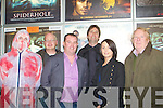 FILM: Director Patrick with many of the members who helped to make his film SPIDERHOLE, which was shpown in the Omniplex Cinema on Thursday night L-r: Aidan McCorbe (capter), Da?ithi? Magner, Alan O'Sullivan, Patrick O'Neill(dir) Joannne O'Sullivanl and Kevin Hanafin........................... ..........