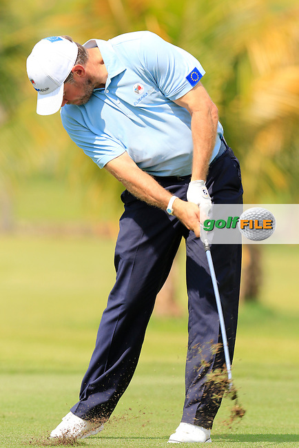 Lee Westwood (ENG) European Team during Pro-Am Day of the 2016 Eurasia Cup held at the Glenmarie Golf &amp; Country Club, Kuala Lumpur, Malaysia. 14th January 2016.<br /> Picture: Eoin Clarke | Golffile<br /> <br /> <br /> <br /> All photos usage must carry mandatory copyright credit (&copy; Golffile | Eoin Clarke)