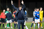 Dundee v St Johnstone&hellip;29.12.18&hellip;   Dens Park    SPFL<br />Saints manager Tommy Wright salutes the travelling fans at full time<br />Picture by Graeme Hart. <br />Copyright Perthshire Picture Agency<br />Tel: 01738 623350  Mobile: 07990 594431
