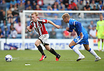 Sheffield United's Mark Duffy in action during the League One match at the Priestfield Stadium, Gillingham. Picture date: September 4th, 2016. Pic David Klein/Sportimage