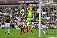 Joe Hart of West Ham catches a cross during West Ham United vs Burnley, Premier League Football at The London Stadium on 10th March 2018