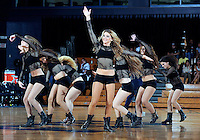 Florida International University Golden Dazzlers perform during the game against Western Kentucky University, which won the game 61-51 on January 28, 2012 at Miami, Florida. .