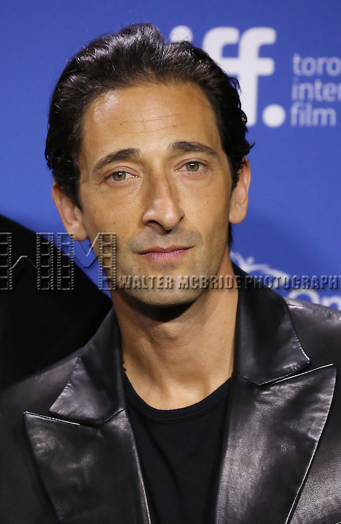 "Adrien Brody attending the 2013 Tiff Film Festival Photo Call for ""Third Person""  at the Tiff Bell Lightbox on September 10, 2013 in Toronto, Canada."