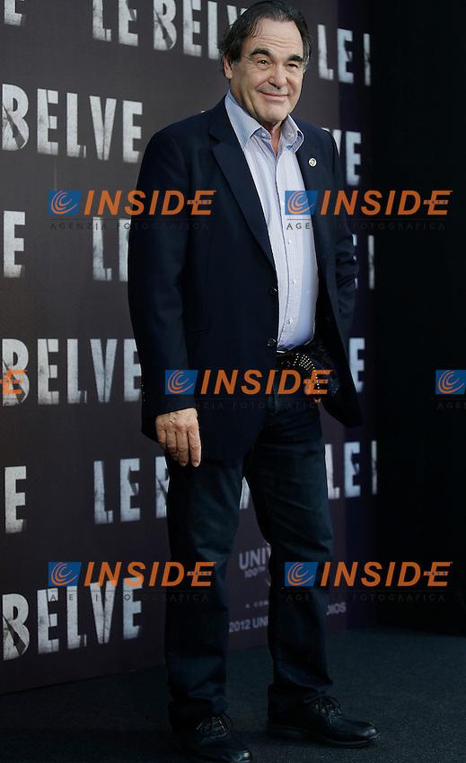 """Oliver Stone .Roma 25/09/2012 Hotel de Russie-  Photo Call del film """"Le Belve"""".Foto Serena Cremaschi Insidefoto.."""